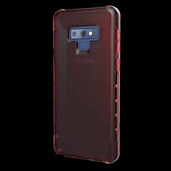 uag urban armor gear plyo samsung galaxy note 9 (red clear) - urban armor gear 852524008693 2 1