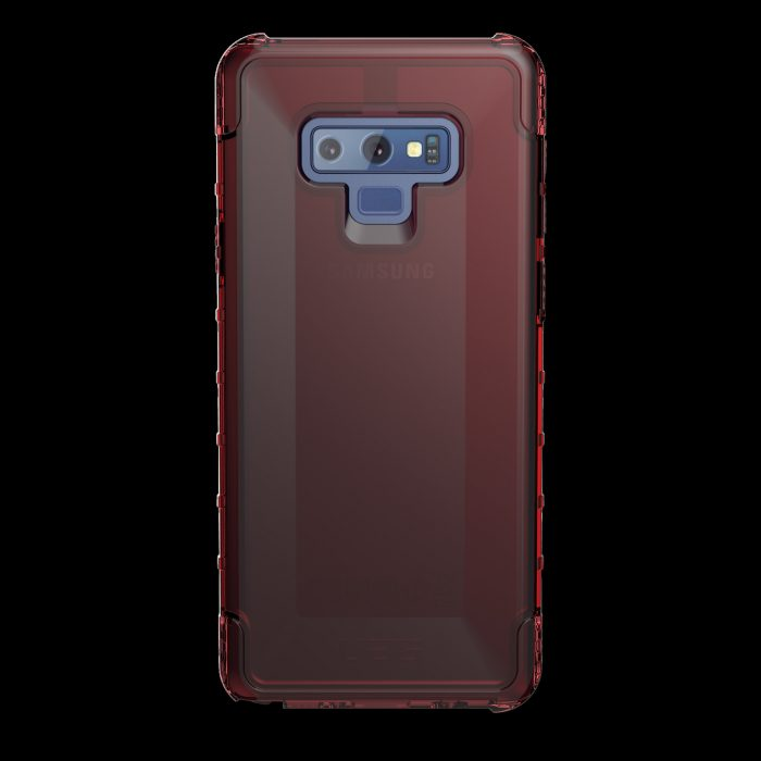 uag urban armor gear plyo samsung galaxy note 9 (red clear) - urban armor gear 852524008693 3