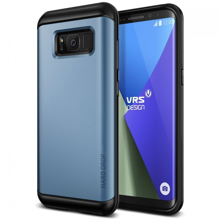 vrs design hard drop samsung galaxy s8 plus blue coral - vrs design 8809477686388 5
