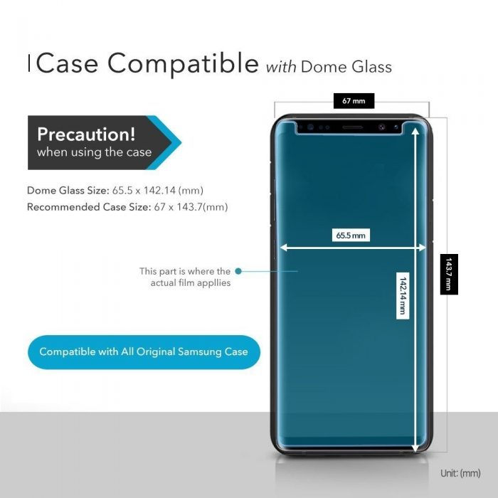 whitestone dome glass replacement samsung galaxy s9 plus - whitestone dome 8809365402502 2 1