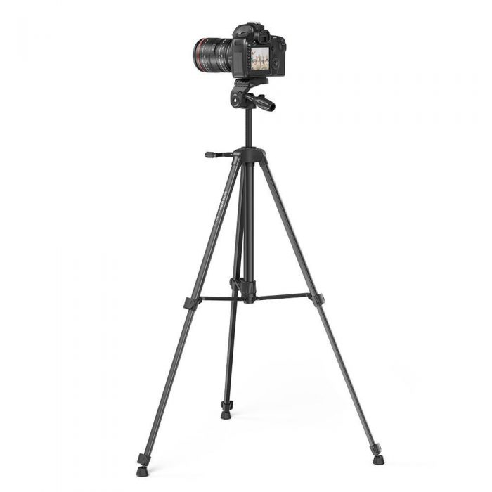blitzwolf bw-bs0 pro tripod for cameras and smartphones (black) - export 1226