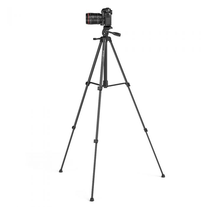 blitzwolf bw-bs0 pro tripod for cameras and smartphones (black) - export 1227