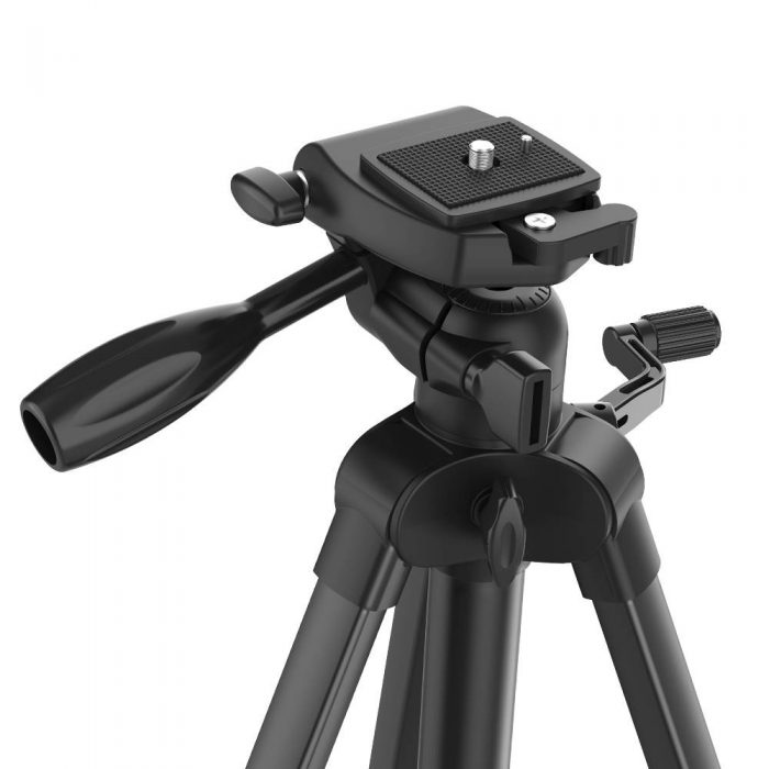 blitzwolf bw-bs0 pro tripod for cameras and smartphones (black) - export 1230