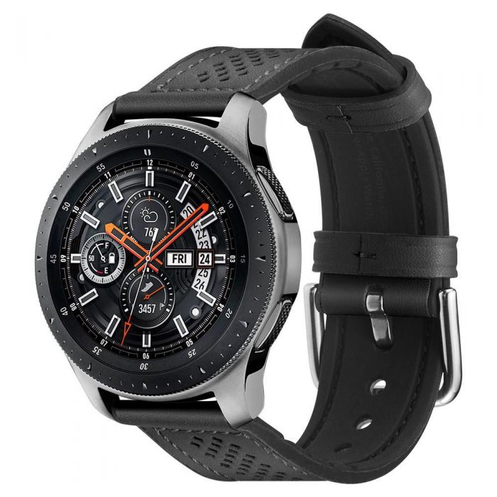 spigen retro fit band samsung galaxy watch 46mm black - export 54