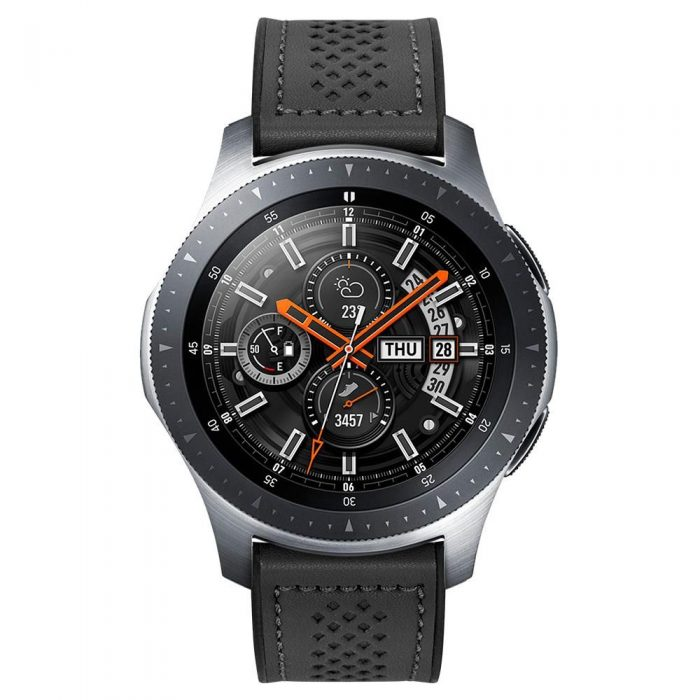 spigen retro fit band samsung galaxy watch 46mm black - export 55