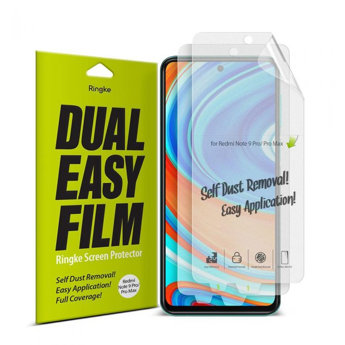 Ringke Dual Easy Full Cover Redmi Note 9S/9 Pro/9 Pro Max Case Friendly - export 149