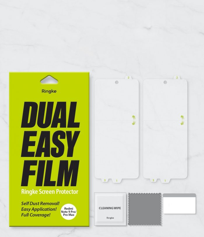 Ringke Dual Easy Full Cover Redmi Note 9S/9 Pro/9 Pro Max Case Friendly - export 157