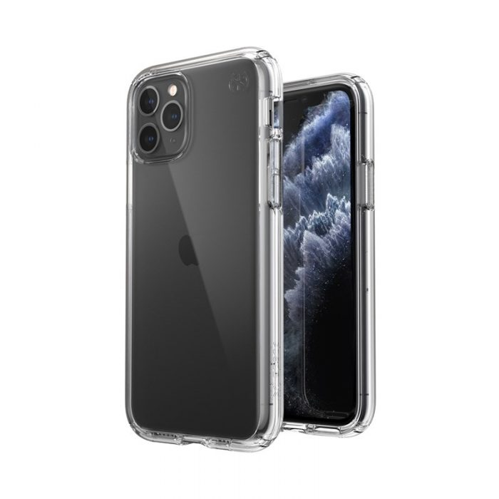 speck presidio perfect-clear - kryt iphone 11 pro s microban (clear/clear) - export 1660