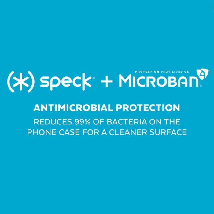 speck presidio perfect-clear - kryt iphone 11 pro s microban (clear/clear) - export 1673