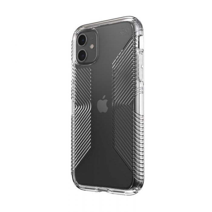speck presidio perfect clear s grips - kryt iphone 11 s microban (clear/clear) - export 1848