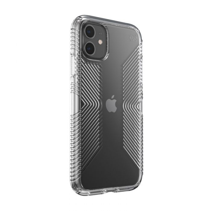 speck presidio perfect clear s grips - kryt iphone 11 s microban (clear/clear) - export 1849
