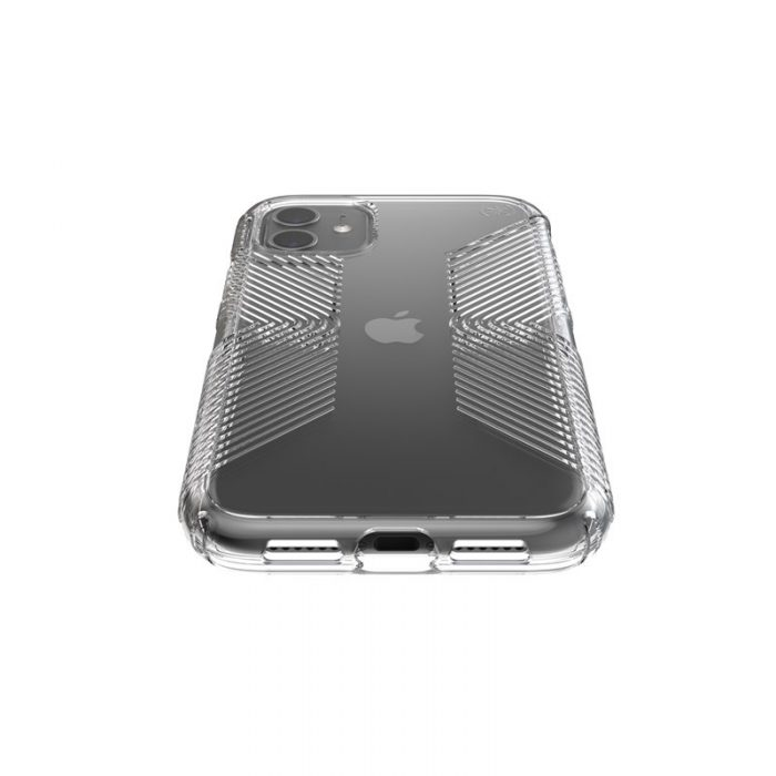 speck presidio perfect clear s grips - kryt iphone 11 s microban (clear/clear) - export 1850
