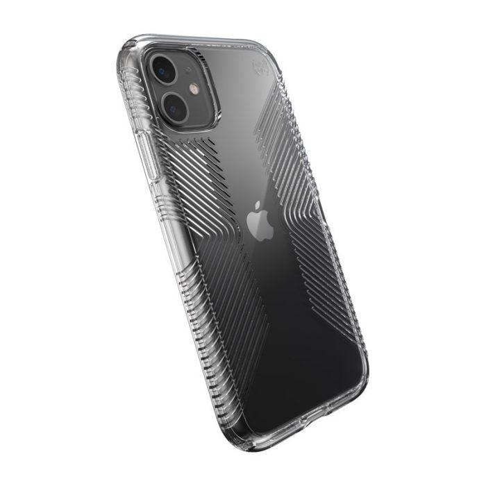 speck presidio perfect clear s grips - kryt iphone 11 s microban (clear/clear) - export 1851