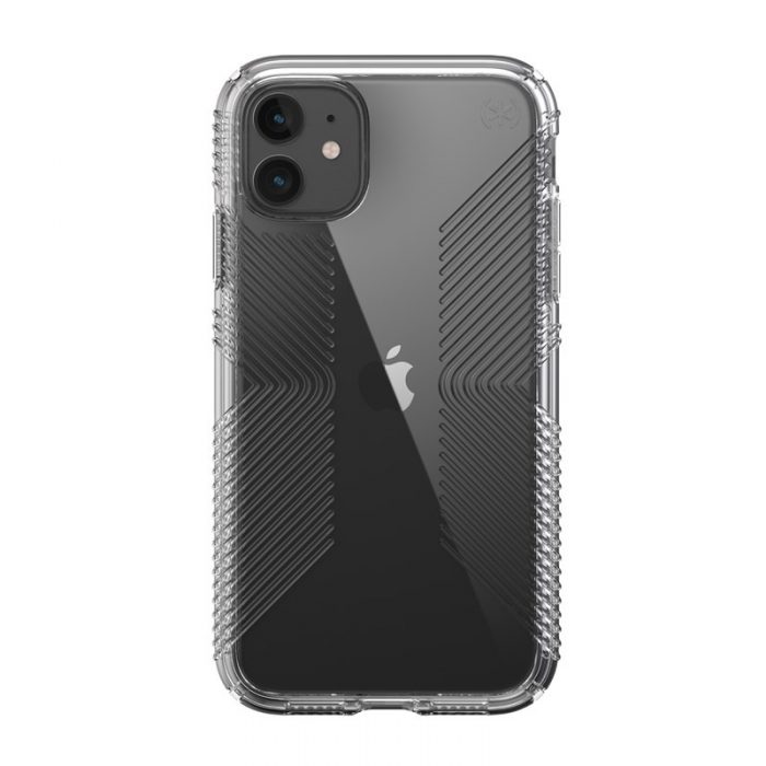 speck presidio perfect clear s grips - kryt iphone 11 s microban (clear/clear) - export 1854
