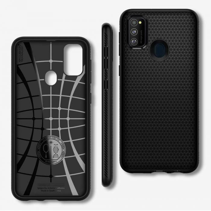 Spigen Liquid Air Samsung Galaxy M21 Matte Black - export 696