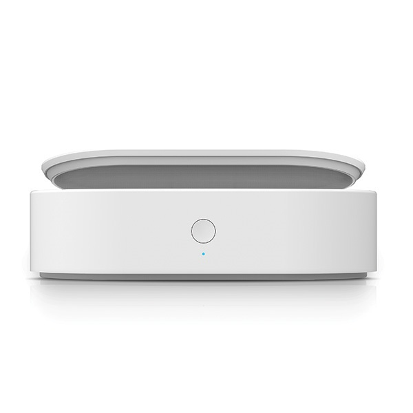 uniq lyfro all-in-one uvc sanitizer with fast wireless charging 10w white - export 2087