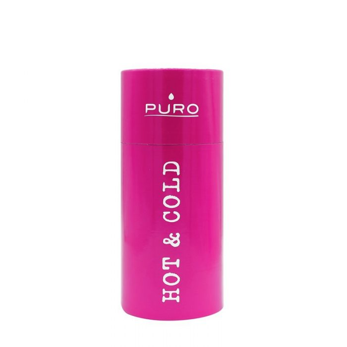 puro hot&cold thermal stainless steel water bottle 350ml (fucsia) - export 2188