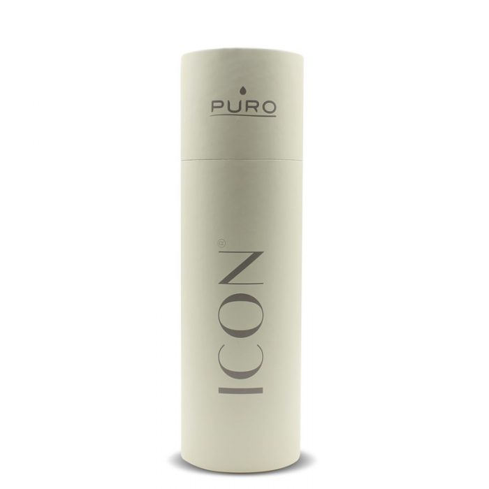 puro icon thermal stainless steel water bottle 500ml (beige) (powder coating) - export 2219