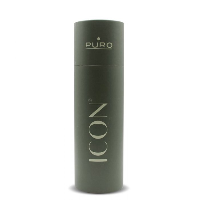 puro icon thermal stainless steel water bottle 500ml (green) (powder coating) - export 2233