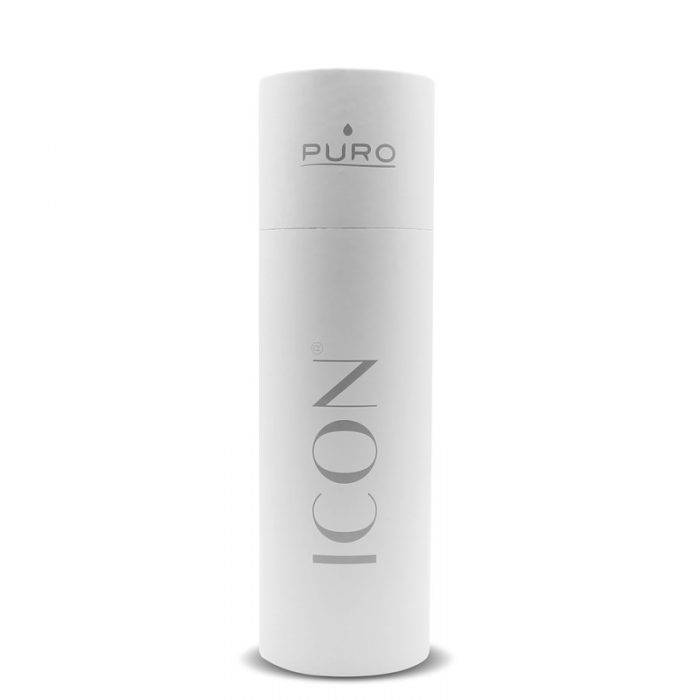 puro icon thermal stainless steel water bottle 500ml (white) (powder coating) - export 2247