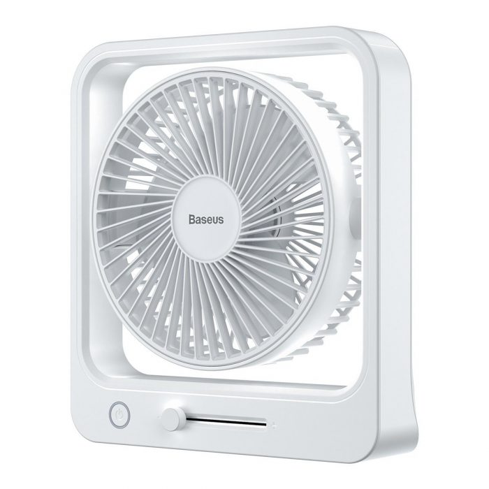 baseus cube portable fan (white) - export 2413