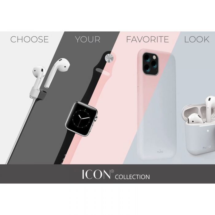 puro icon cover apple iphone 11 pro max (red) - export 2565