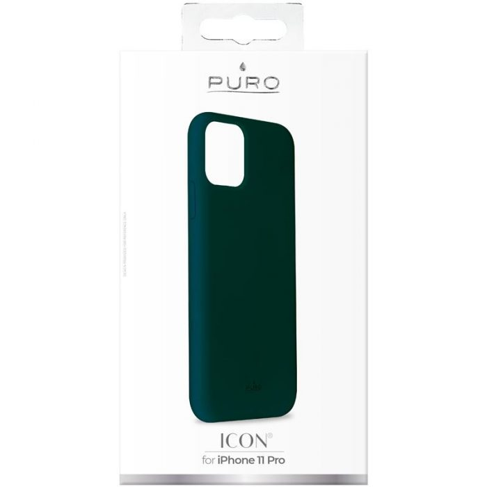 puro icon cover apple iphone 11 pro (green) - export 2831