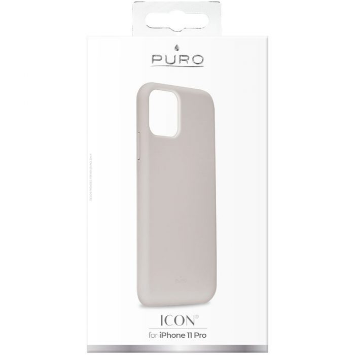 puro icon cover apple iphone 11 pro (taupe) - export 2839
