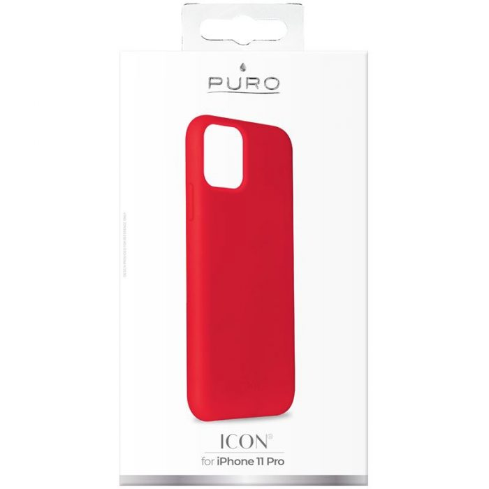 puro icon cover apple iphone 11 pro (red) - export 2847