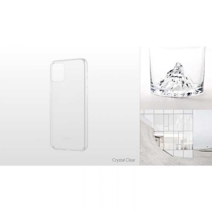 moshi superskin - apple iphone 11 pro (crystal clear) - export 2926
