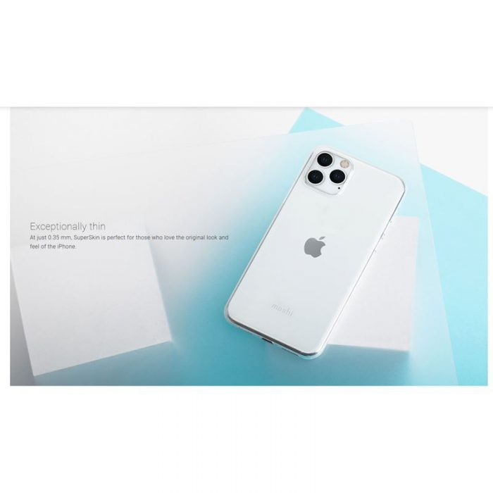 moshi superskin - apple iphone 11 pro (crystal clear) - export 2927