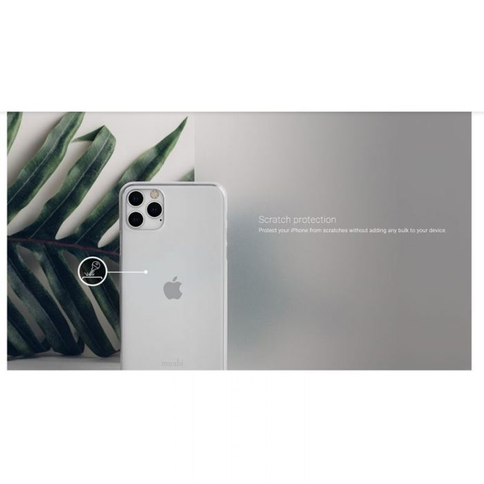 moshi superskin - apple iphone 11 pro (crystal clear) - export 2928