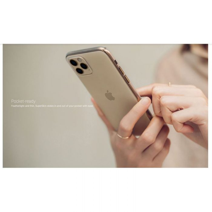 moshi superskin - apple iphone 11 pro (crystal clear) - export 2929
