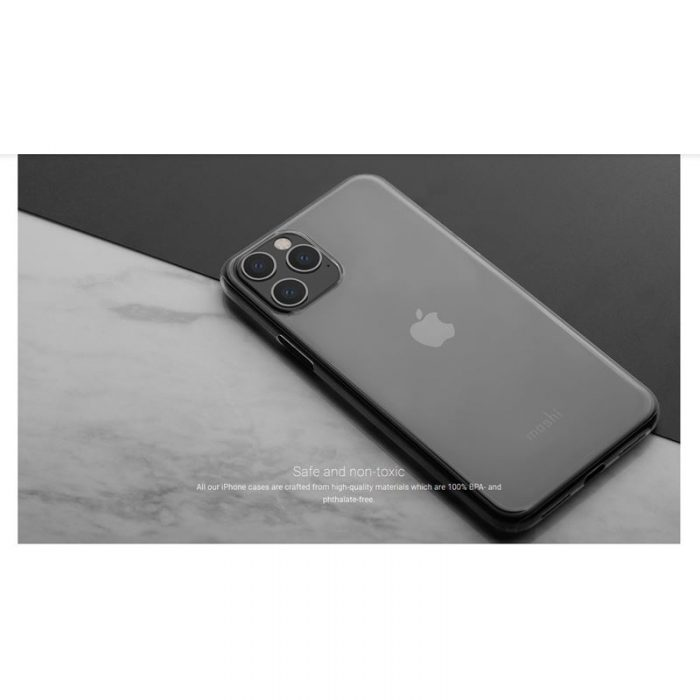 moshi superskin - apple iphone 11 pro (crystal clear) - export 2933