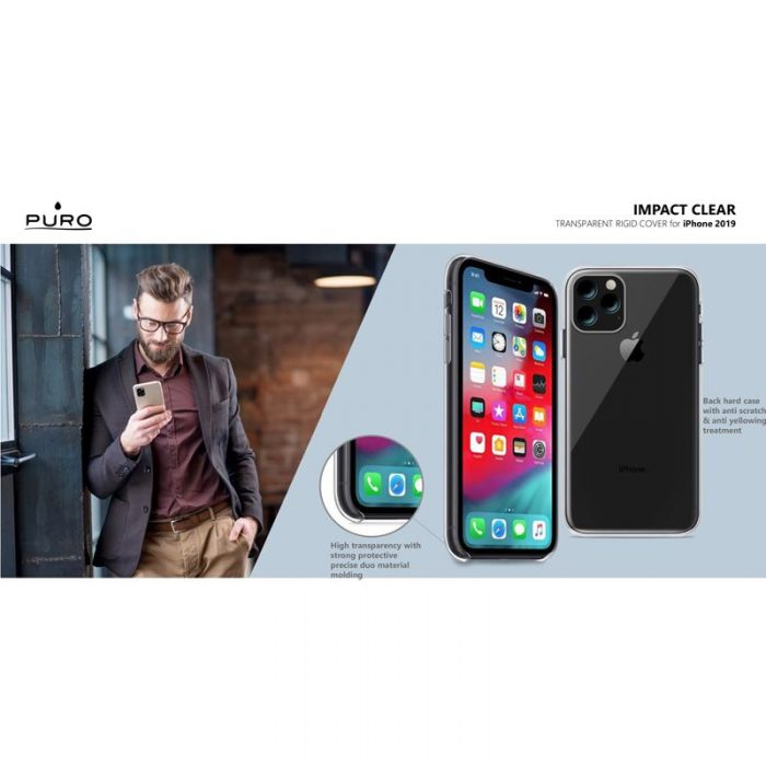 puro impact clear apple iphone 11 (clear) - export 3159