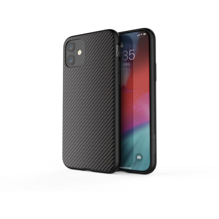 x-doria dash air - case iphone 11 (black carbon fiber) - export 3254