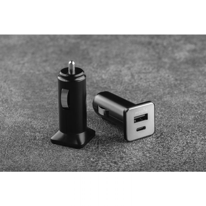 quikduo car charger with usb-c pd and quick charge (36 w) - export 3465