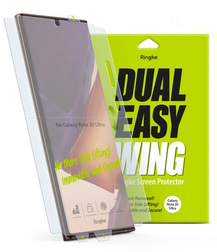 Ringke Dual Easy Wing Full Cover Samsung Galaxy Note 20 Ultra [2 PACK] - export 4237