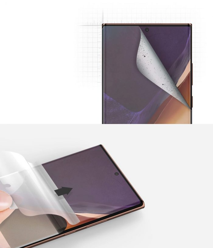 Ringke Dual Easy Wing Full Cover Samsung Galaxy Note 20 Ultra [2 PACK] - export 4249