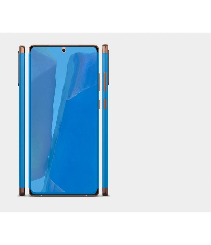 ringke dual easy wing full cover samsung galaxy note 20 [2 pack] - export 4277