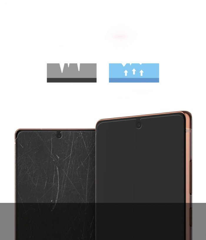 ringke dual easy wing full cover samsung galaxy note 20 [2 pack] - export 4280