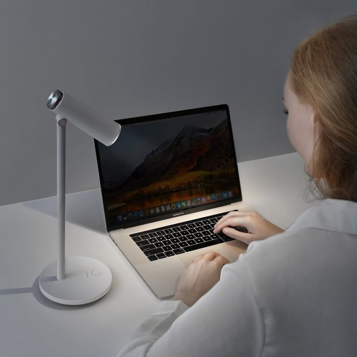 baseus i-wok desk lamp rechargeable (white) - krytaren.sk baseus i wok desk lamp rechargeable white others 7