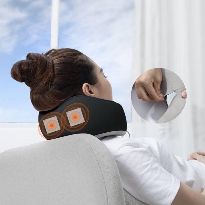 baseus thermal series memory foam neck pillow (dark grey) - krytaren.sk baseus thermal series memory foam neck pillow dark grey others 7