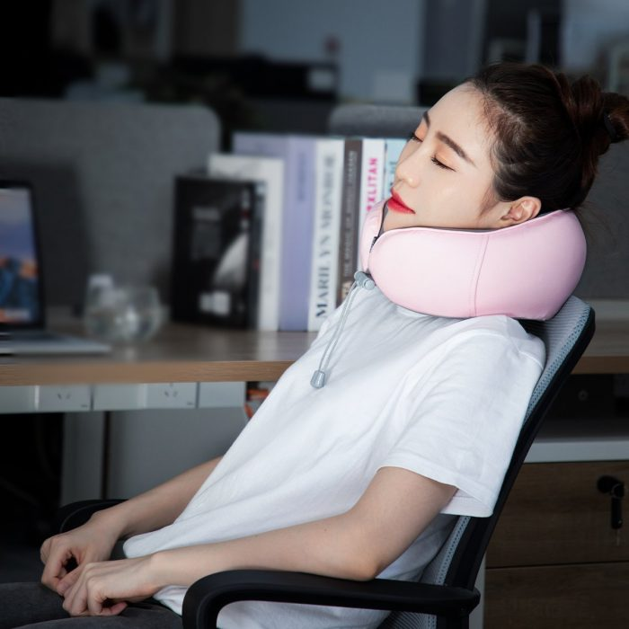 baseus thermal series memory foam neck pillow (pink) - krytaren.sk baseus thermal series memory foam neck pillow pink others 8