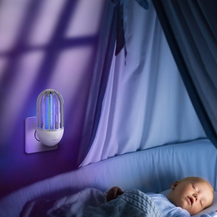 insecticide / mosquito lamp baseus linlon, electric, uv (white) - krytaren.sk insecticide mosquito lamp baseus linlon electric uv white others 9