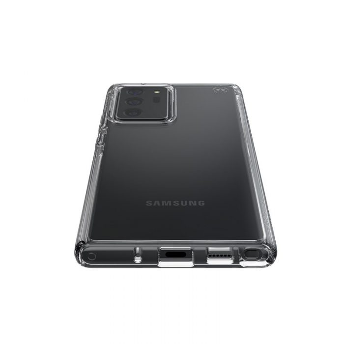 Speck Presidio Perfect Clear - Case Samsung Galaxy Note20 Ultra with MICROBAN (Clear/Clear) - krytaren.sk Speck Presidio Perfect Clear Case Samsung Galaxy Note20 Ultra with MICROBAN ClearClear Note 20 Ultra 3