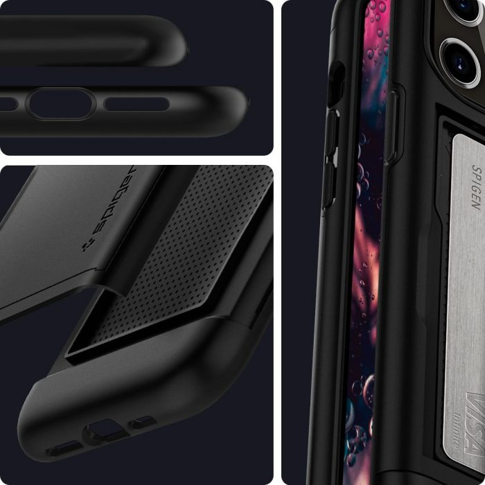 Spigen Slim Armor CS Apple iPhone 12 Pro Max Black - export 1746