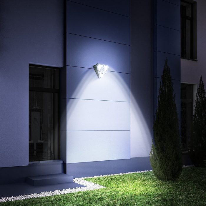 external solar led baseus lamp with motion detector - export 366