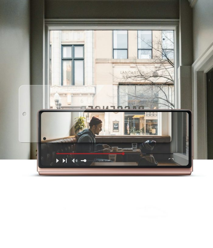 ringke invisible defender samsung galaxy z fold 2 [2 pack] - export 1581