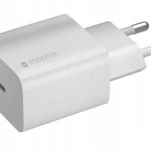 Wall Chargers - Mophie Wall Charger USB-C 20W (white) - 1 - krytaren.sk